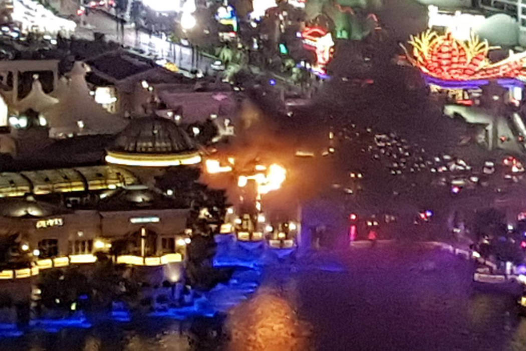 Fire at Bellagio