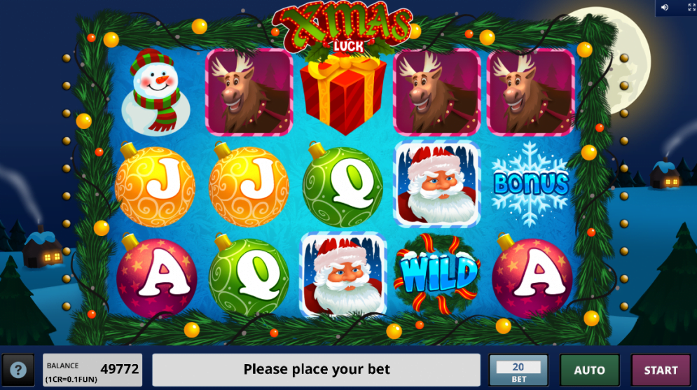Christmas-themed slot from Booongo