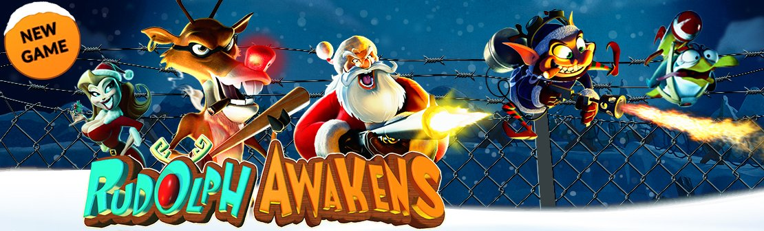 New RTG Slot 'Rudolph Awakens' is Now Live!