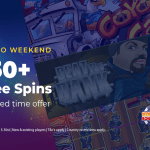 No deposit bonuses 150 free spins weekend offer